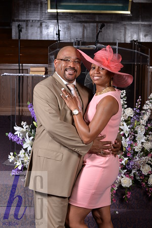 Pastor Robinson and First Lady