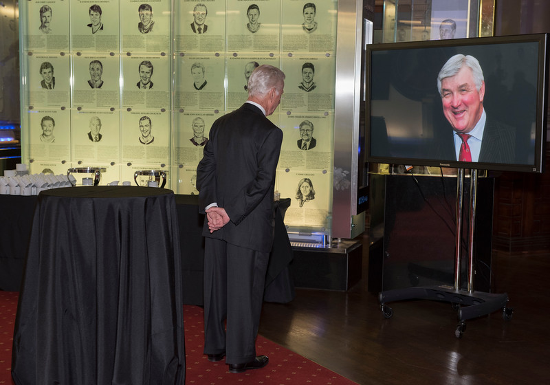 Pat Quinn Reception