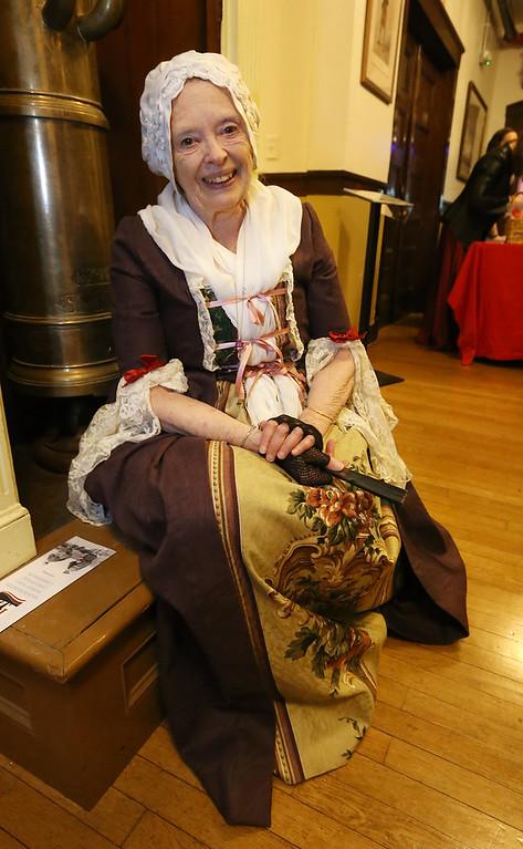 . Patriots\' Ball at Concord Armory. Barbara Forman of Concord. (SUN/Julia Malakie)