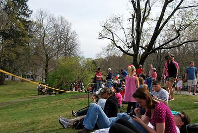 Spectators for the Tower Park Battle in Lexington