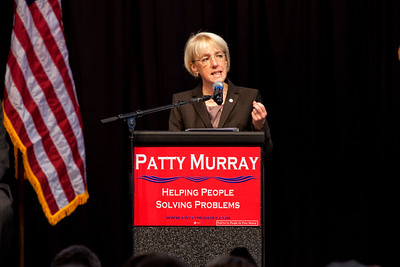 Patty Murray Get out the Vote Rally 10-18-2010 Everett WA