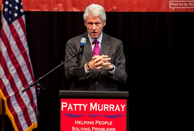 President Bill Clinton_ Patty Murray Get out the Vote Rally 10-18-2010 Everett WA