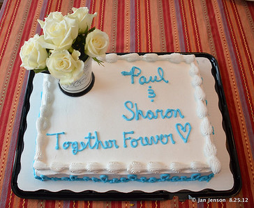 Paul Anthony and Sharon Smith's Soul Mate Ceremony cake