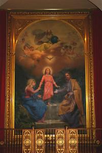 Painting of the Holy Family. Mission Santa Clara.