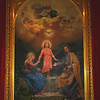 Painting of the Holy Family. Mission Santa Clara.