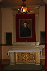 St. Ignatius of Loyola, founder of the Jesuits, who run the University of Santa Clara where Mission Santa Clara is located.