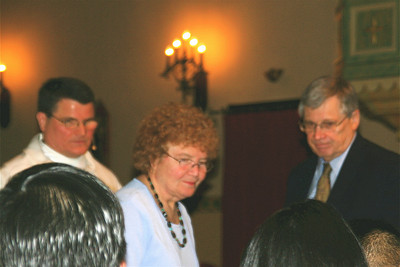Fr. Paul and his parents.