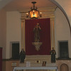 St. Francis altar. Mission Santa Clara.