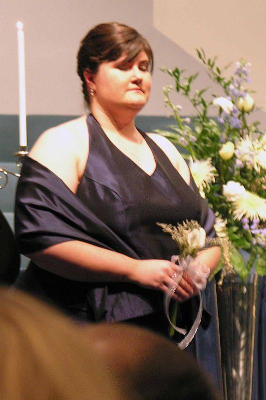 Heather Reed - bridesmaid