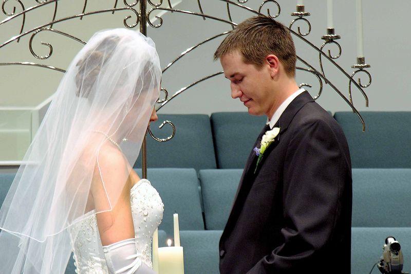 Beautiful couple - beautiful wedding