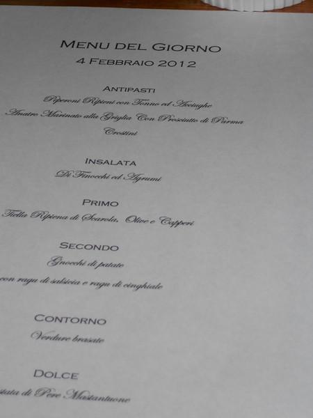 What a delicious menu!!