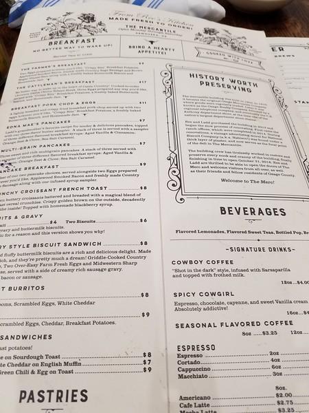 Pioneer Woman Ree Drummond restaurant menu