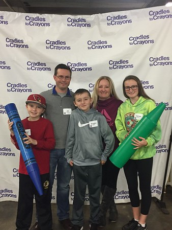 Pay It Forward- Cradles to Crayons Nov 2016