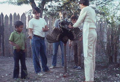 Thanksgiving Day in Comayagua, Honduras with fellow Peace Corps Volunteers 1979