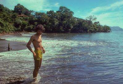 Jim Rindone at Amapala Honduras
