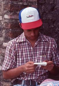 Ray Prado in Honduras 1979