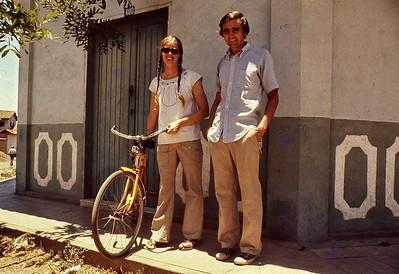 Bob and Terry Riley a their house in Choluteca, Honduras