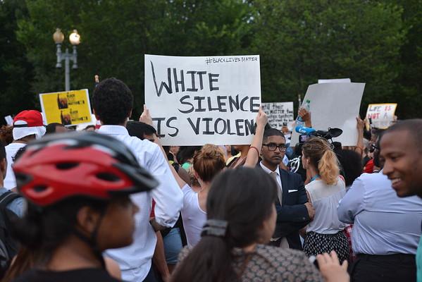 Peaceful Protest #BlackLivesMatter - Washington DC