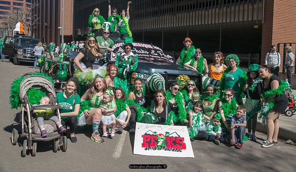 Peaks & Pasties St Paddy's Day Parade 2015!