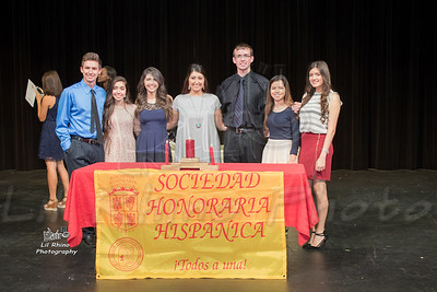 Pearland High School Spanish Honor Society Recognition