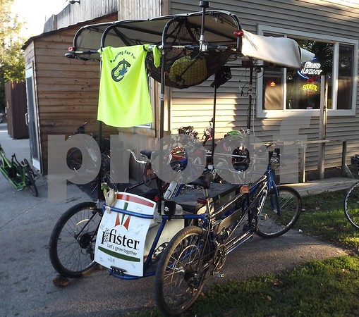 A custom built bike.