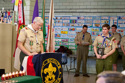 Penders Eagle Scout Induction