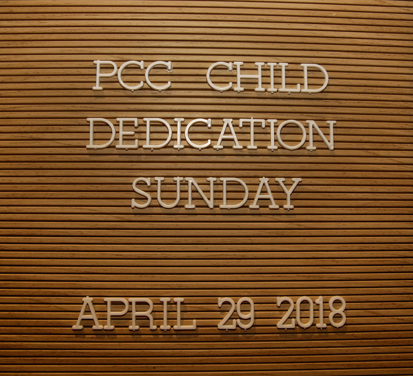 PCC Child Dedication 4-29-2018 by Annette Holloway Photography