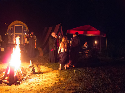 Kindred Camp by the firelight