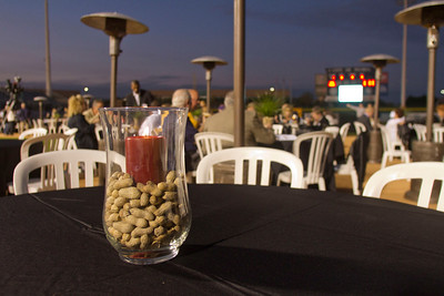 Dinner on the Diamond, Peoria Stadium, Peoria, Arizona. Photographed by Dave Martinez, 2012.