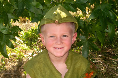 Washington  Midsummer Renaissance Faire.  Young Robin Hood or maybe he was an elf, told me when I asked mom to take his picture that he had just lost seven teeth.