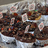 """4th annual Cupcake Festival, to benefit Friends of the Lawrence Library in Pepperell. """"No toxic cake"""" was a political statement about no toxic waste in Pepperell. (SUN/Julia Malakie)"""