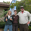 <b>Pet Amnesty Day, January 14, 2012</b> Volunteer Jan Conley with Serena Rinker and Darren Pecora from USFWS