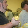 <b>Pet Amnesty Day, January 14, 2012</b> Barry Mintzer helps someone say goodbye to his snake