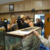 <b>Pet Amnesty Day, January 14, 2012</b> Marcie guards the tank while Krysti takes the picture <i>- Kay Larche</i>
