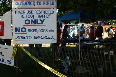 The fairgrounds at Pet Rock Festival 2004