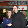 Stephanie and Brian Breen enjoy a night out supporting the community at the Boys and Girls Club of Marin and Southern Sonoma Counties held on Saturday, January 25 2014