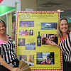 Rebecca Celli and Shannon Rund are the Golden Ticket Raffle Referees at the Boys and Girls Club of Marin and Southern Sonoma Counties held on Saturday, January 25 2014