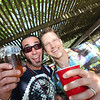L to R: Nicolas Rivas, faciitator of inebriation, and Kyle Restad, Advisor for Petaluma's Young Professional's Network enjoy themselves at The Great Petaluma Chili Cookoff, Salsa and Beer Tasting held at Herzog Hall in the Sonoma-Marin Fairgrounds on Saturday May 12, 2012. Photo by Victora Webb