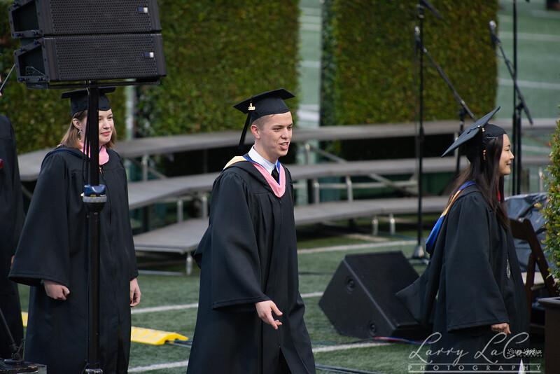 Peter LaCom's graduation from The Master's University