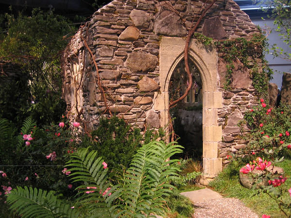 """Ancient"" stone chapel was built right inside the convention center!"