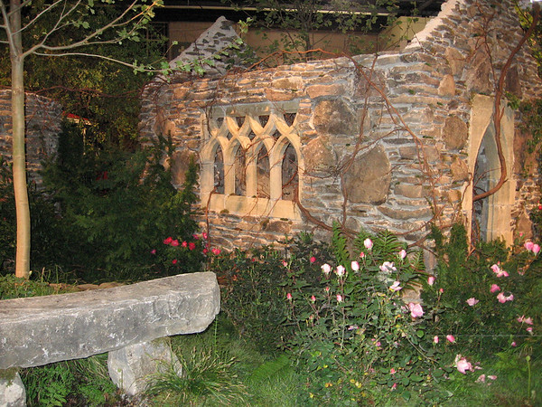 An old-looking stone chapel won the grand prize