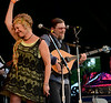 Spuyten Duyvil perform during an afternoon concert at the 53rd Annual Philadelphia Folk Festival on Friday August 15,2014. Photo by Mark C Psoras/The Reporter