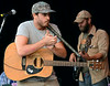 The Wallace Brothers band performs during an afternoon concert at the 53rd Annual Philadelphia Folk Festival on Friday August 15,2014. Photo by Mark C Psoras/The Reporter