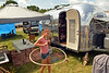 Skye Romero passes relaxes in the camping area at the Philadelphia Folk Festival in Upper Salford.   Thursday, August 14, 2014.