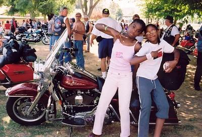 At the Bikes................. Yo,Yo,Yo