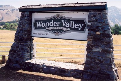 "Wonder Valley Resort - Home of ""CHAMP CAMP"""