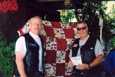 Mongo & Smitty selling Raffle Tickets