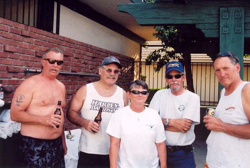 Smitty, Simoni, Carol, JR, George