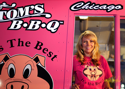 Tom's BBQ at Rock the Zoo!