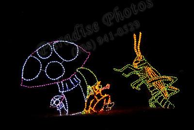 Mushroom& cricket lights 2078